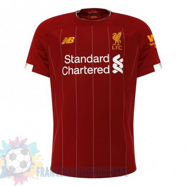 Magasin De Foot New Balance Thailande Domicile Maillot Liverpool 2019 2020 Rouge