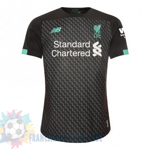 Magasin De Foot New Balance Thailande Third Maillot Liverpool 2019 2020 Noir