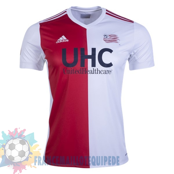 Magasin De Foot adidas Domicile Maillots New England Revolution 2017 2018 Blanc Rouge