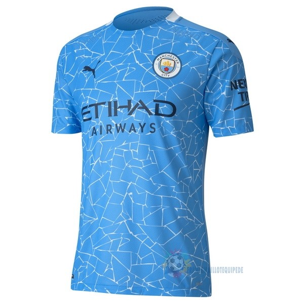 Magasin De Foot PUMA Domicile Maillot Manchester City 2020 2021 Bleu
