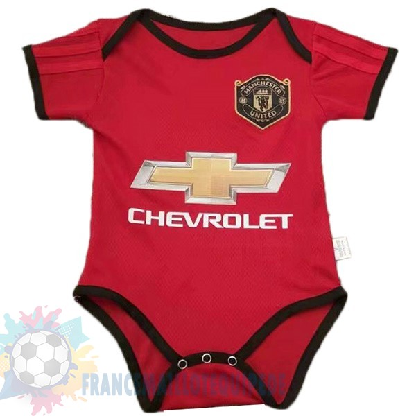 Magasin De Foot Adidas Domicile Onesies Enfant Manchester United 2019 2020 Rouge