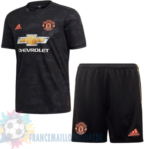 Magasin De Foot Adidas Third Ensemble Enfant Manchester United 2019 2020 Noir