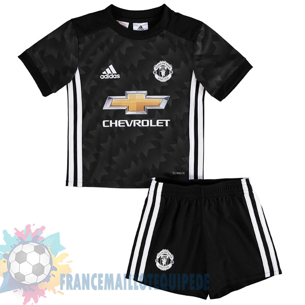 Magasin De Foot adidas Exterieur Ensemble Enfant Manchester United 2017 2018 Noir