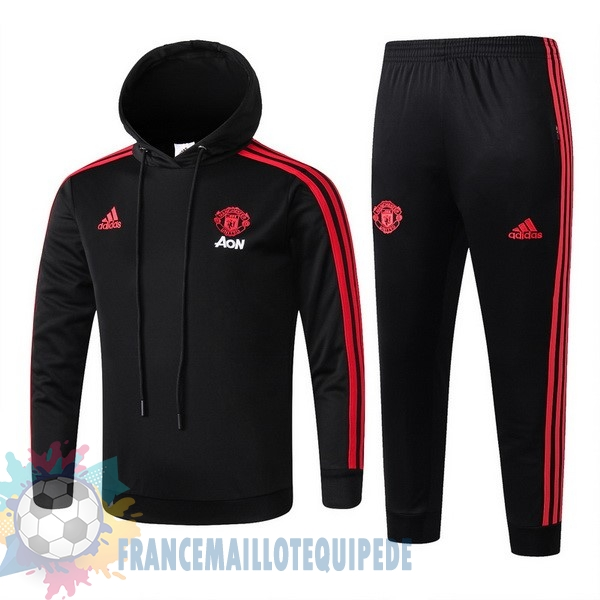 Magasin De Foot adidas Survêtements Enfant Manchester United 18-19 Noir