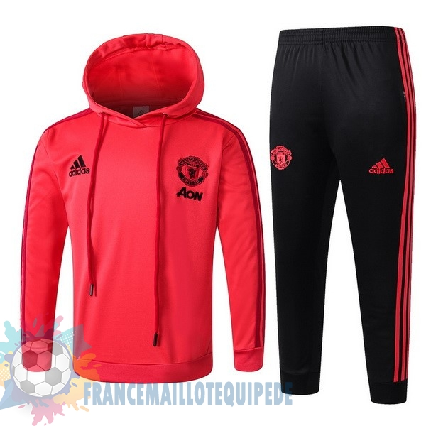 Magasin De Foot adidas Survêtements Enfant Manchester United 18-19 Rouge