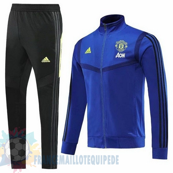Magasin De Foot adidas Survêtements Enfant Manchester United 2019 2020 Bleu Marine