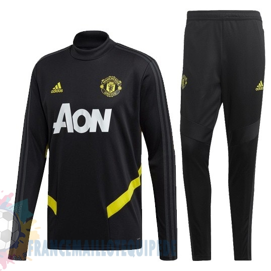 Magasin De Foot adidas Survêtements Enfant Manchester United 2019 2020 Or Noir