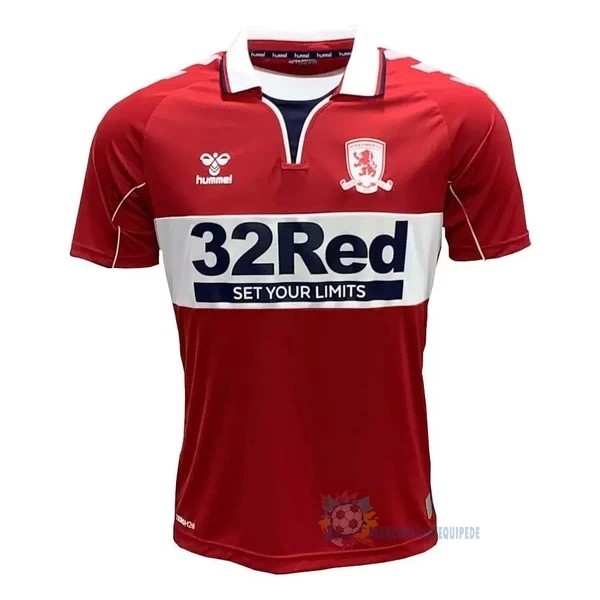 Magasin De Foot hummel Domicile Maillot Middlesbrough 2020 2021 Rouge