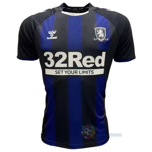 Magasin De Foot hummel Exterieur Maillot Middlesbrough 2020 2021 Bleu
