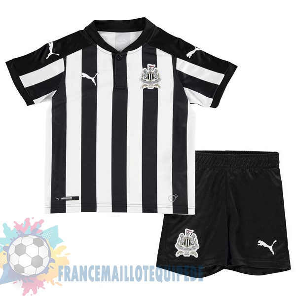 Magasin De Foot PUMA Domicile Ensemble Enfant Newcastle United 2017 2018 Blanc Noir