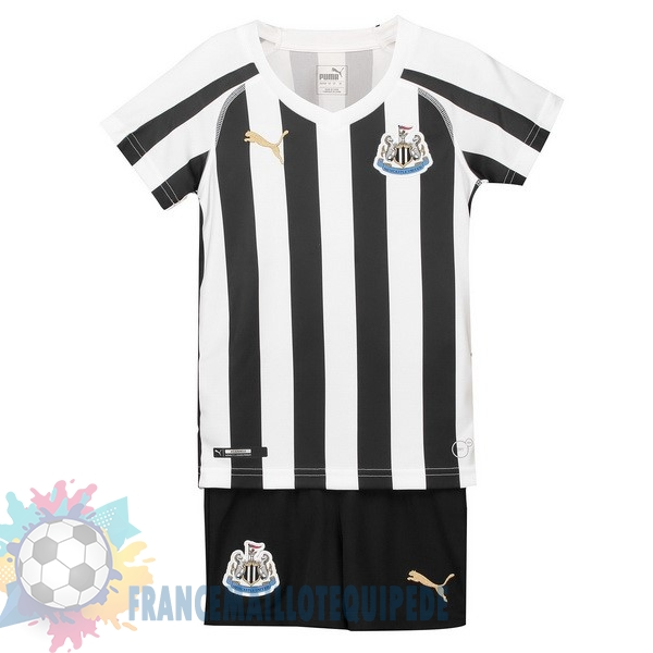 Magasin De Foot PUMA Domicile Ensemble Enfant Newcastle United 2018-2019 Blanc Noir