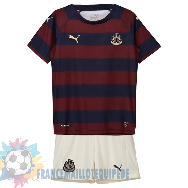 Magasin De Foot PUMA Exterieur Ensemble Enfant Newcastle United 2018-2019 Rouge Noir