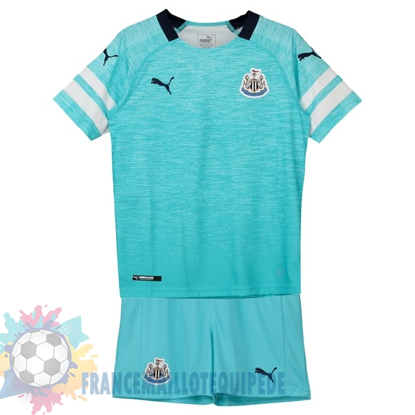 Magasin De Foot PUMA Third Ensemble Enfant Newcastle United 2018-2019 Bleu
