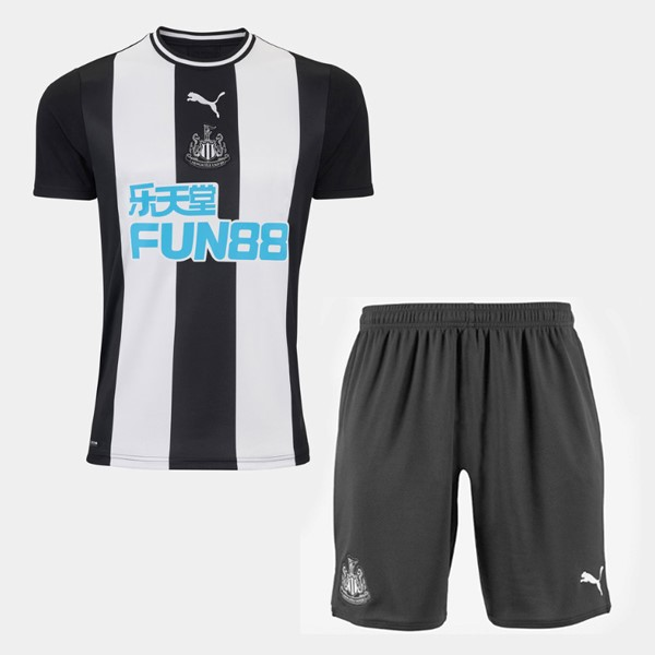 Magasin De Foot PUMA Domicile Ensemble Enfant Newcastle United 2019 2020 Blanc Noir