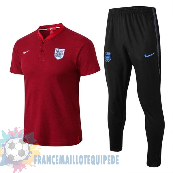 Magasin De Foot Nike Ensemble Polo Angleterre 2018 Rouge