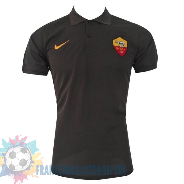 Magasin De Foot Nike Polo AS Roma 2017 2018 Noir