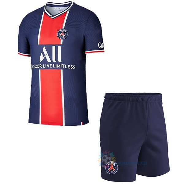 Magasin De Foot Nike Domicile Conjunto De Enfant Paris Saint Germain 2020 2021 Bleu