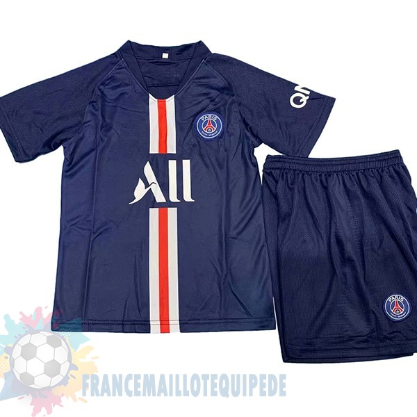 Magasin De Foot Nike DomiChili Conjunto De Enfant Paris Saint Germain 2019 2020 Noir
