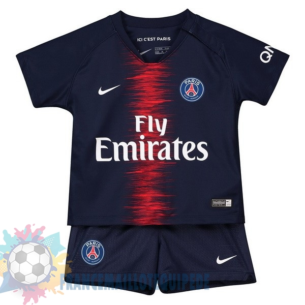 Magasin De Foot Nike Domicile Ensemble Enfant Paris Saint Germain 2018 2019 Bleu