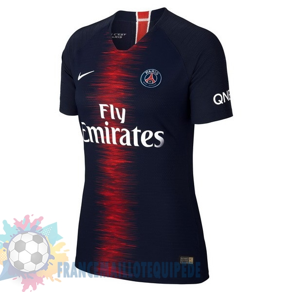 Magasin De Foot Nike Domicile Maillots Femme Paris Saint Germain 2018 2019 Bleu