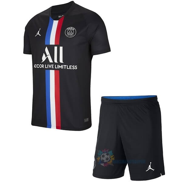 Magasin De Foot JORDAN Third Ensemble Enfant Paris Saint Germain 2019 2020 Noir