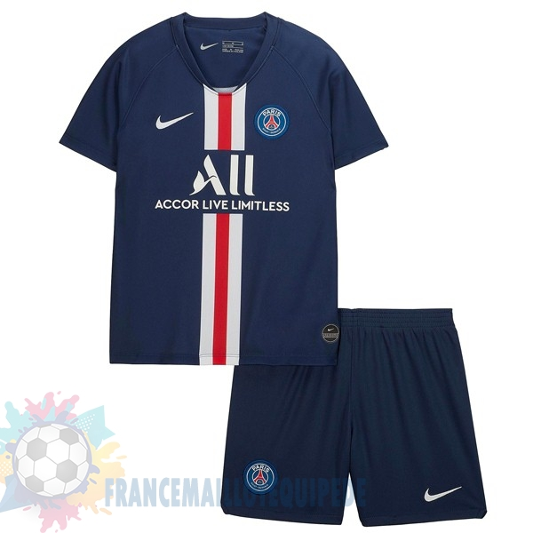 Magasin De Foot Nike Domicile Ensemble Enfant Paris Saint Germain 2019 2020 Bleu