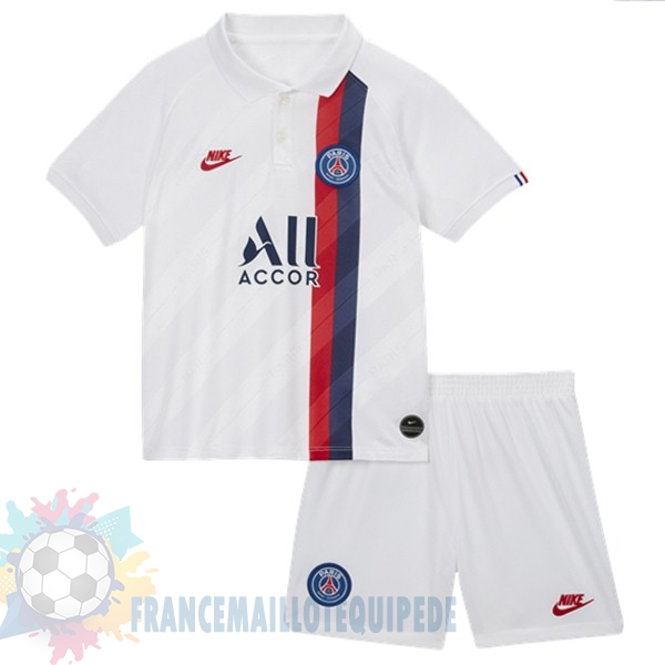 Magasin De Foot Nike Third Ensemble Enfant Paris Saint Germain 2019 2020 Blanc