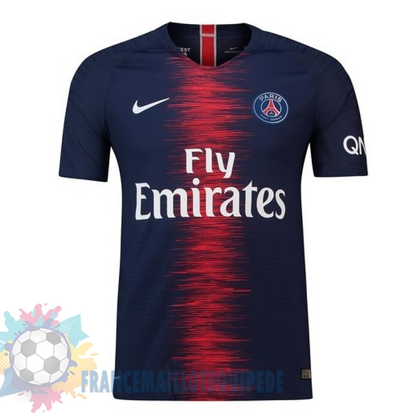 Magasin De Foot Nike Thailande Domicile Maillots Paris Saint Germain 2018 2019 Bleu