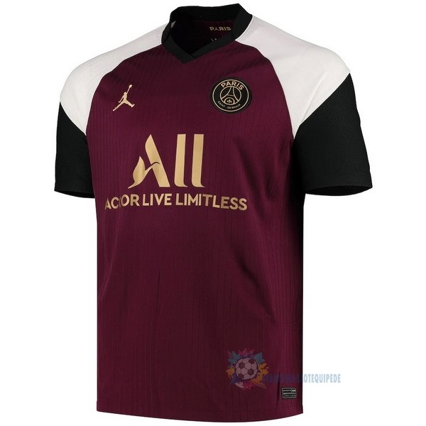 Magasin De Foot JORDAN Third Maillot Paris Saint Germain 2020 2021 Bordeaux