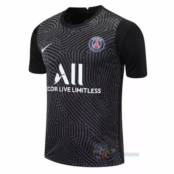 Magasin De Foot Nike Maillot Gardien Paris Saint Germain 2020 2021 Noir