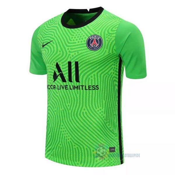Magasin De Foot Nike Maillot Gardien Paris Saint Germain 2020 2021 Vert