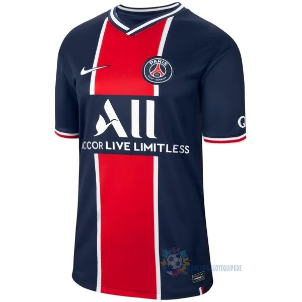 Magasin De Foot Nike Thailande Domicile Maillot Paris Saint Germain 2020 2021 Bleu