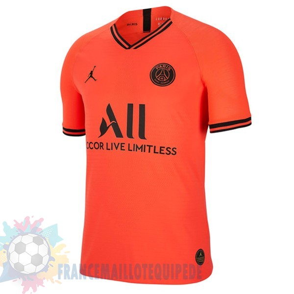 Magasin De Foot Jordan Thailande Exterieur Paris Saint Germain 2019 2020 Orange