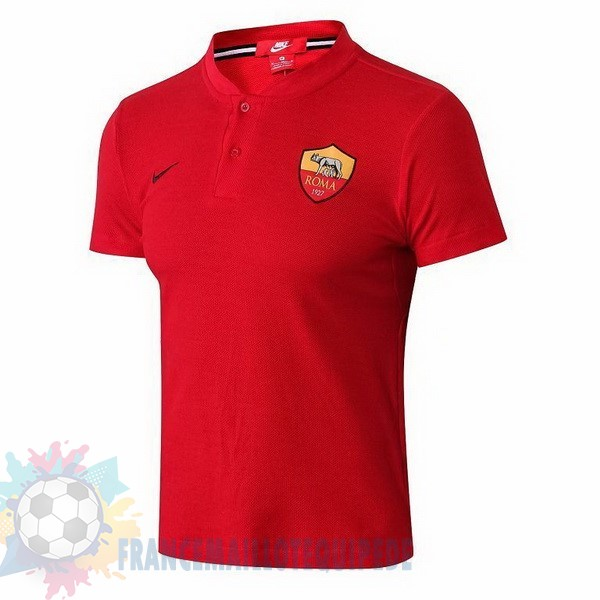 Magasin De Foot Nike Polo AS Roma 2018 2019 Rouge