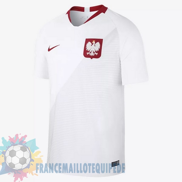 Magasin De Foot Nike Domicile Maillots Pologne 2018 Blanc