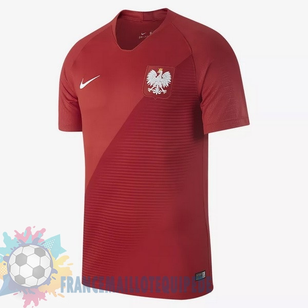 Magasin De Foot Nike Exterieur Maillots Pologne 2018 Rouge