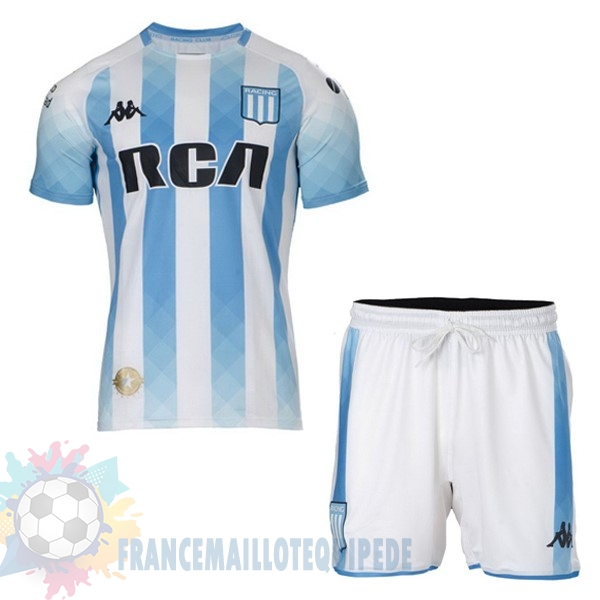 Magasin De Foot Kappa Domicile Ensemble Enfant Racing Club 2019 2020 Blanc