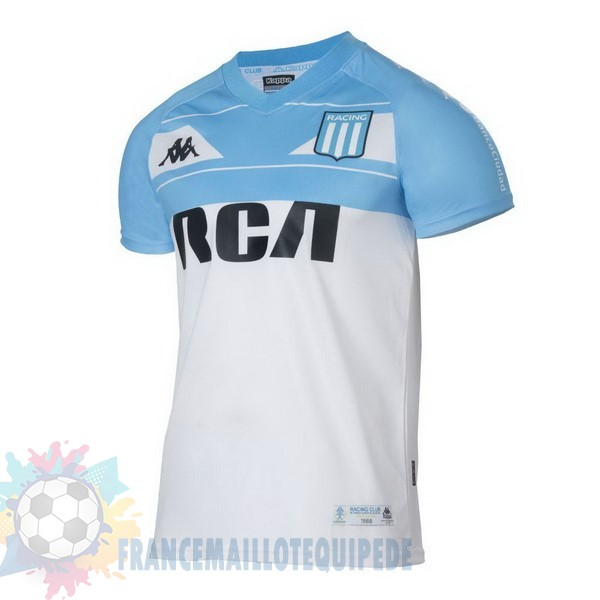 Magasin De Foot Kappa Domicile Maillot Racing Club 100th Blanc Bleu