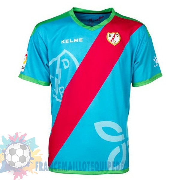 Magasin De Foot Kelme Third Maillots Rayo Vallecano de Madrid 18-19 Bleu