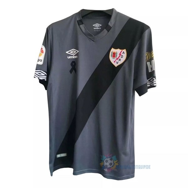 Magasin De Foot umbro Exterieur Maillot Rayo Vallecano 2020 2021 Gris