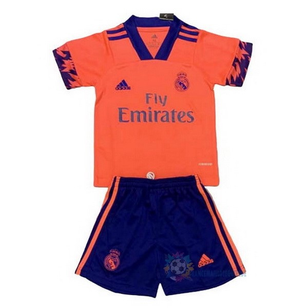 Magasin De Foot adidas Concept Conjunto De Enfant Real Madrid 2020 2021 Orange