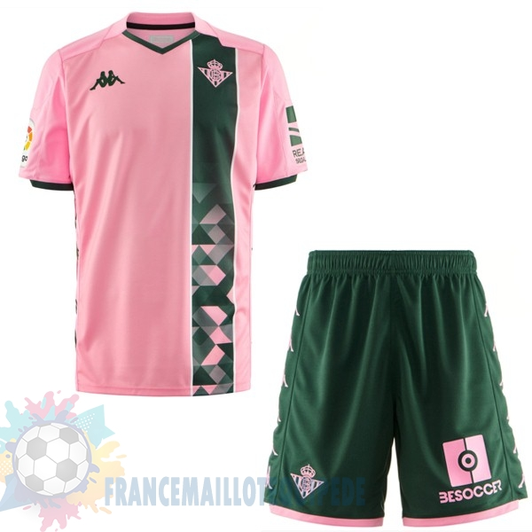 Magasin De Foot Kappa Third Ensemble Enfant Real Betis 2019 2020 Rose