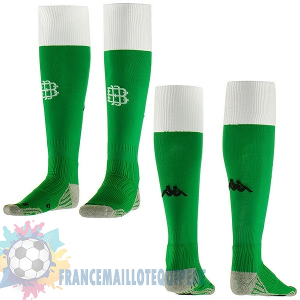 Magasin De Foot Kappa Domicile Chaussettes Real Betis 2018-2019 Vert