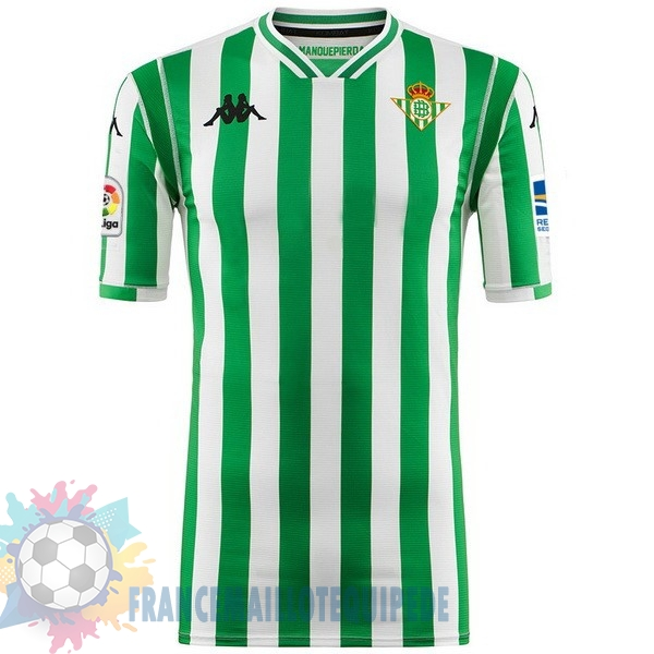 Magasin De Foot Kappa Domicile Maillots Real Betis 2018-2019 Vert