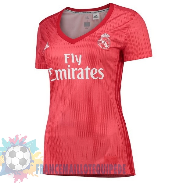 Magasin De Foot adidas Third Maillots Femme Real Madrid 2018-2019 Rouge