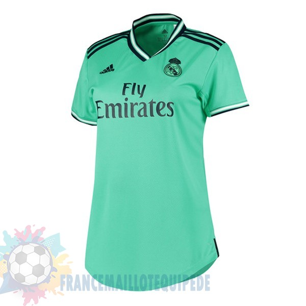 Magasin De Foot adidas Third Maillot Femme Real Madrid 2019 2020 Vert