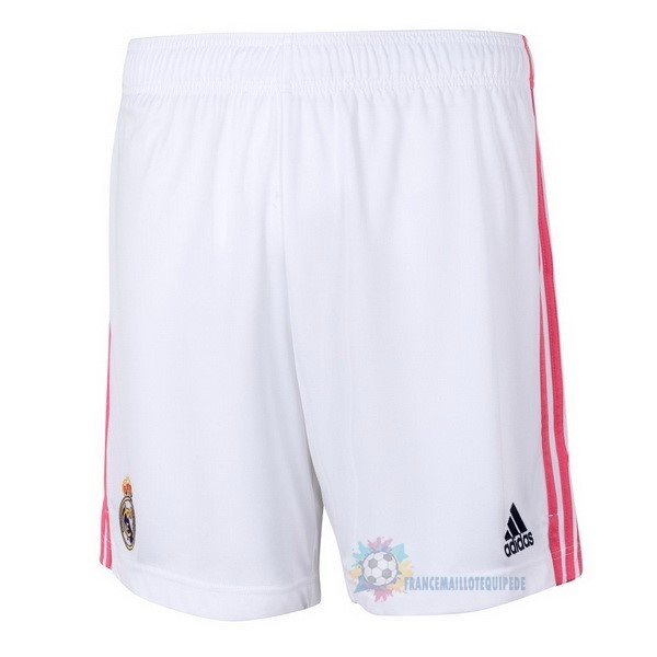 Magasin De Foot adidas Domicile Pantalon Real Madrid 2020 2021 Blanc