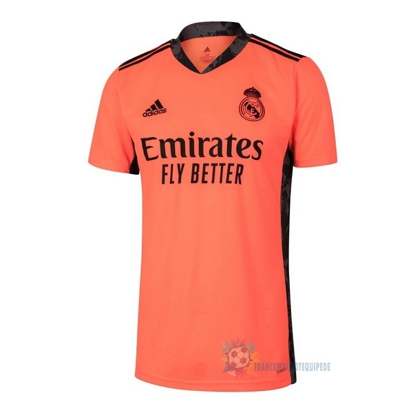 Magasin De Foot adidas Exterieur Maillot Gardien Real Madrid 2020 2021 Orange
