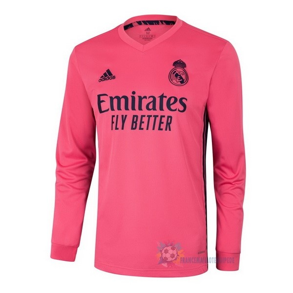 Magasin De Foot adidas Exterieur Manches Longues Real Madrid 2020 2021 Rose