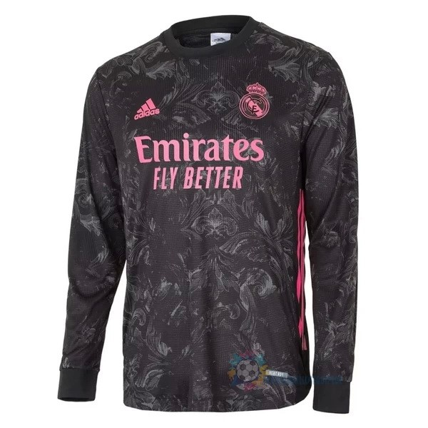 Magasin De Foot adidas Third Manches Longues Real Madrid 2020 2021 Noir